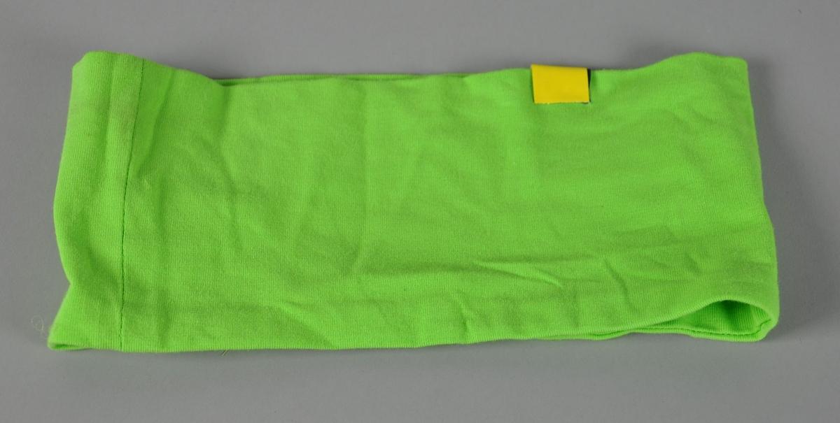 Lysegrønt pannebånd