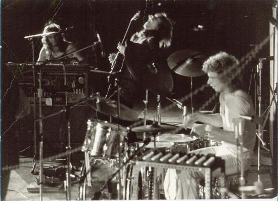 Bill Bruford med Yes, i 1971.