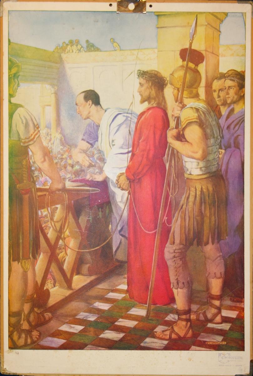Jesus og Pontius Pilatus.