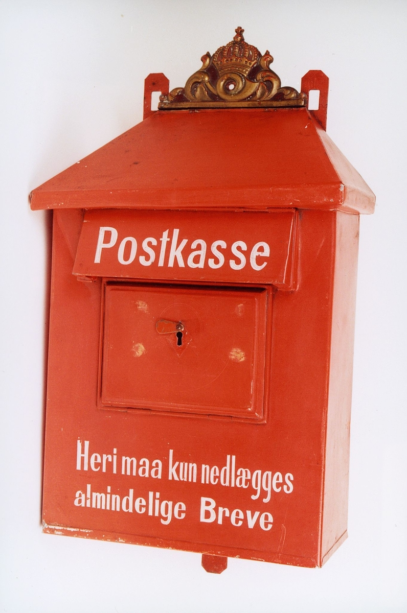 Postkasse.