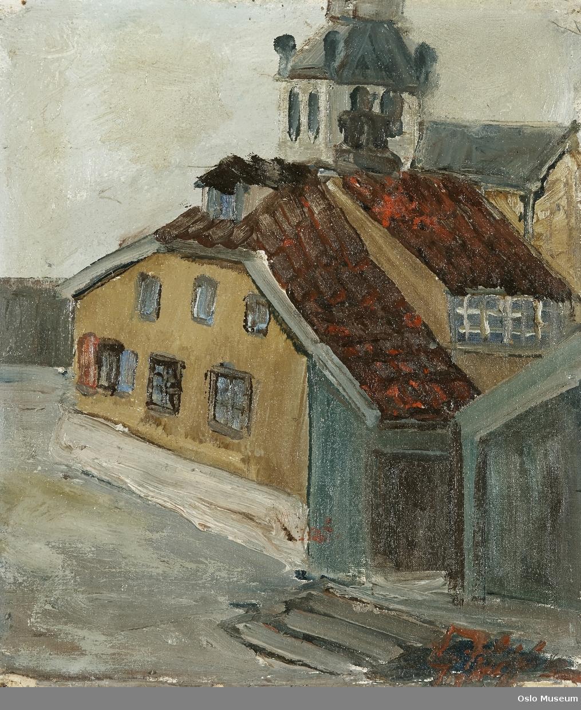 Hammersborg [Oljemaleri]