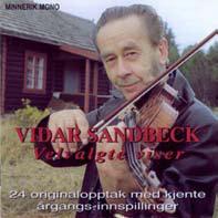 Vidar Sandbeck CD nr. 2 Velvalgte viser