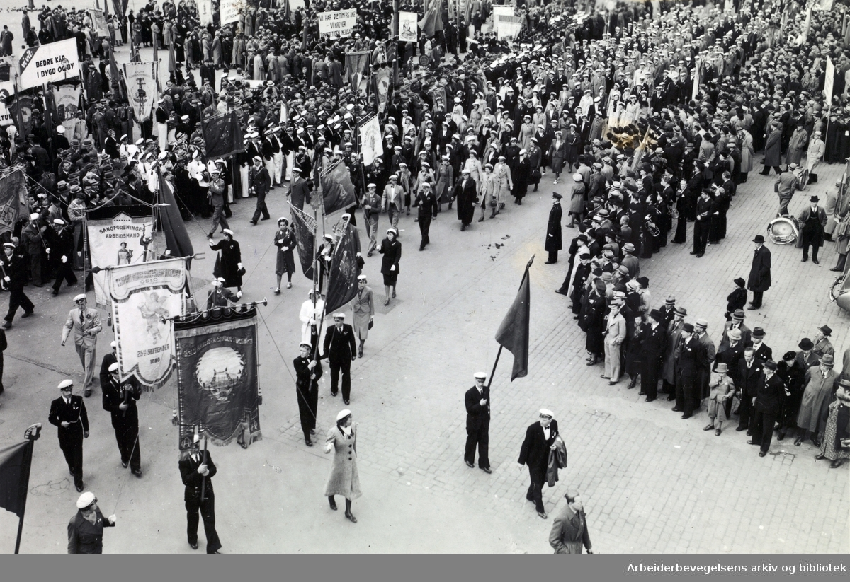 1. mai 1939, Youngstorget.