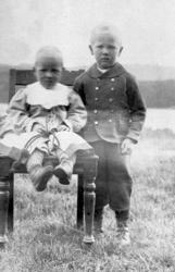 Fr v: Hugo Henriksson, Sigurd Bograng