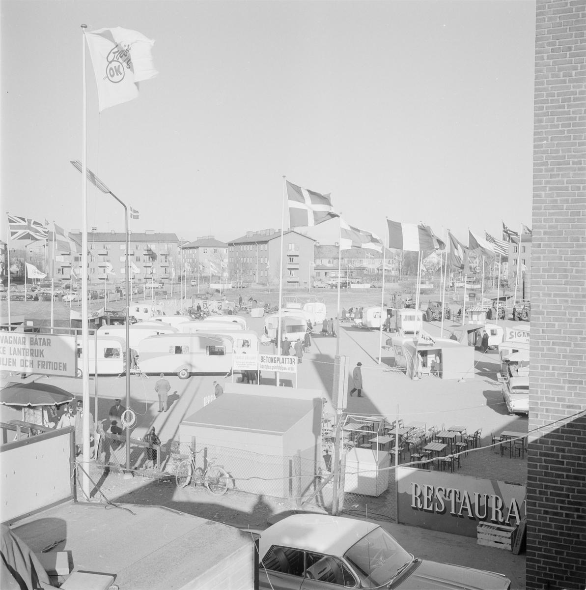 Hushållningssällskapet - Sten Sture mässan, Uppsala 1962 ...