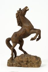 Stegrande häst  [Skulptur]