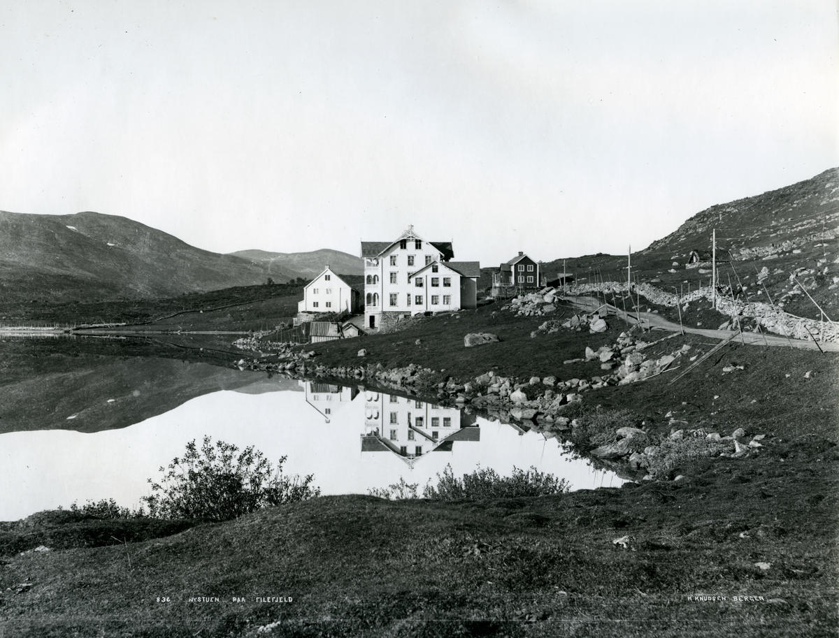 Nystøga på Filefjell, 1880-talet (Foto/Photo)