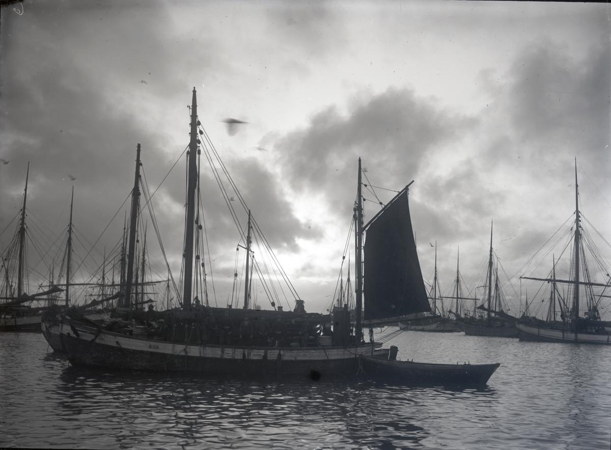 Fiskeskøyte Reg. R651