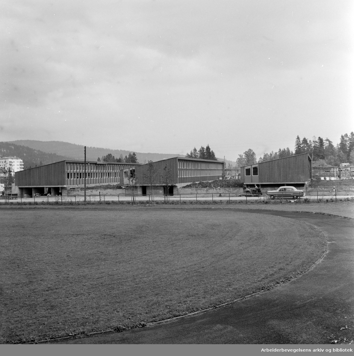 Persbråten skole. August 1959