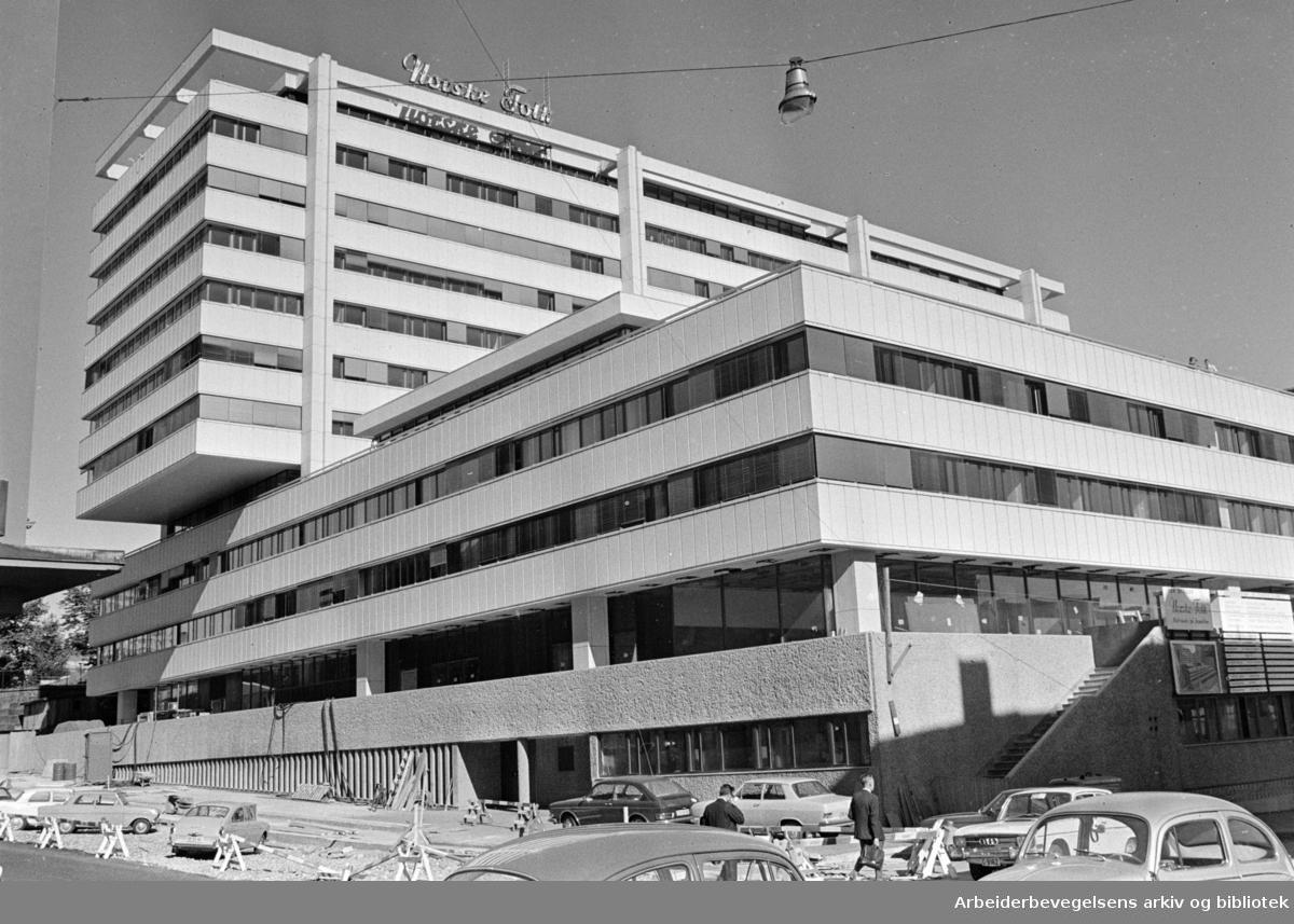 Norske Folks Hus i Vika. September 1969