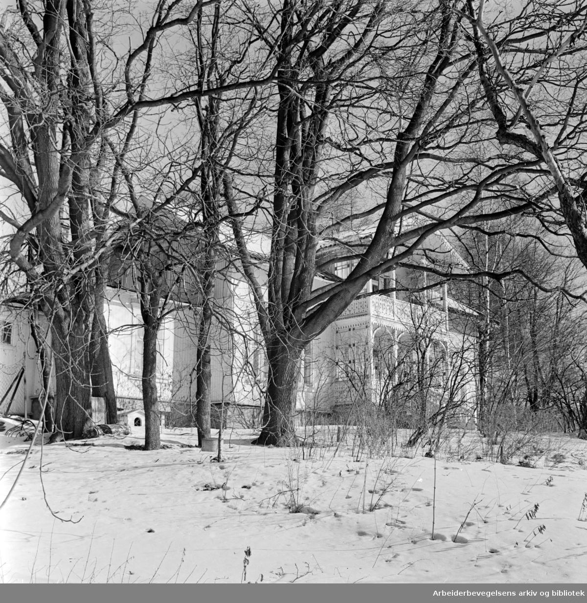 Maridalsveien 290. Mars 1963