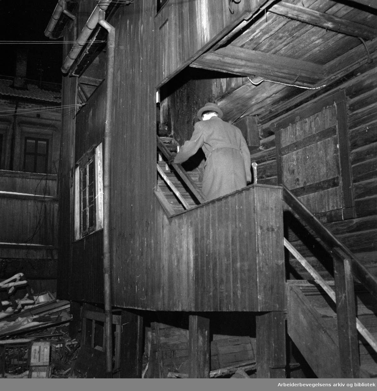 Lakkegata 20. Januar 1954