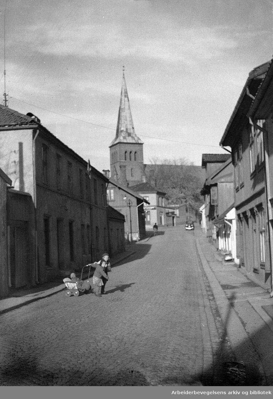 Kampen. Normannsgata. Oktober 1948