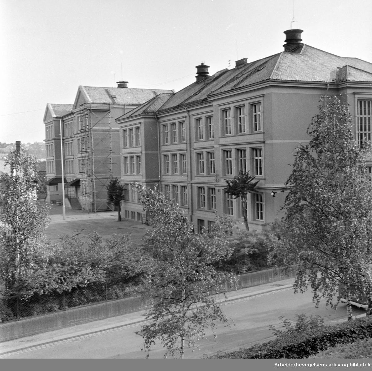Kampen skole. August 1963
