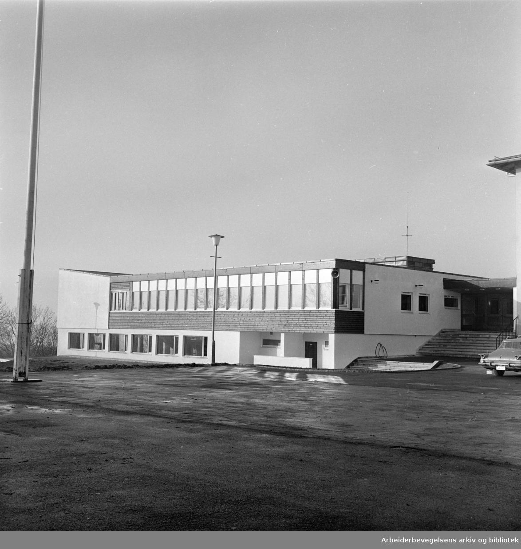 Furuset skole. Oktober 1962