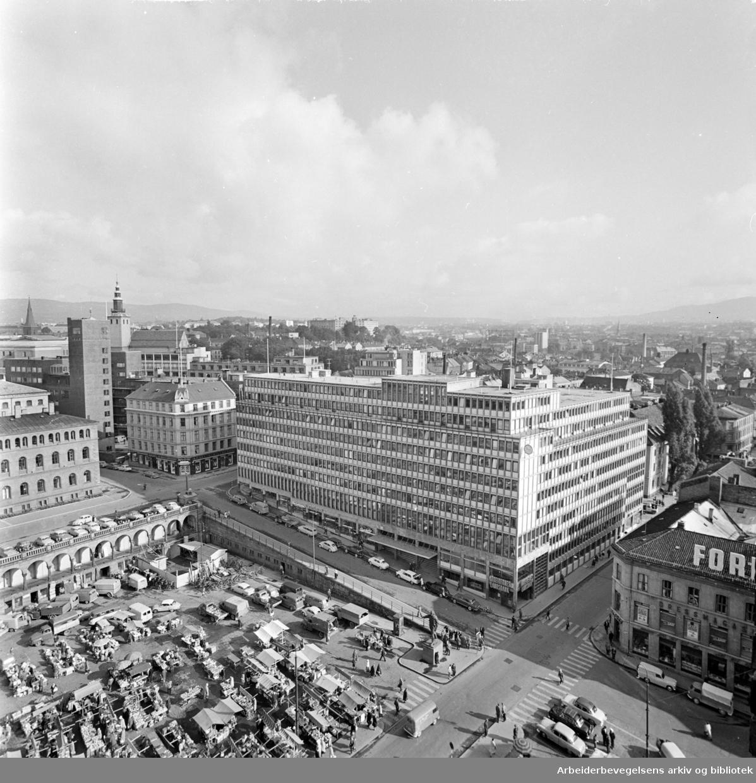Folkets Hus. Det nye Folkets Hus. Juni 1962