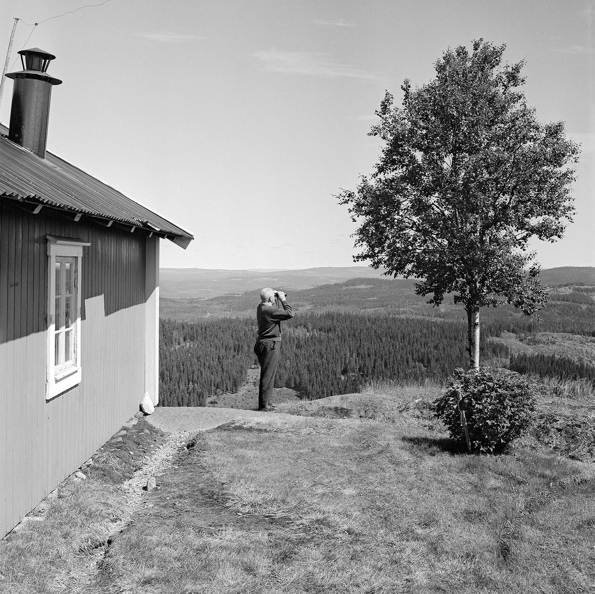Utsiktstårnet ved brannvaktstasjonen på Flotsberget. (Foto/Photo)