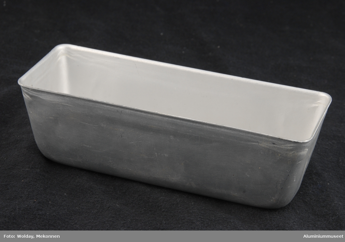 Avlang kakeform