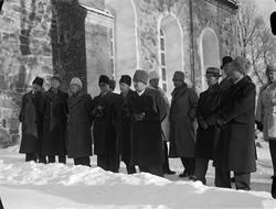 """""""De tyska pressmännens upsaladag"""", 1941"""