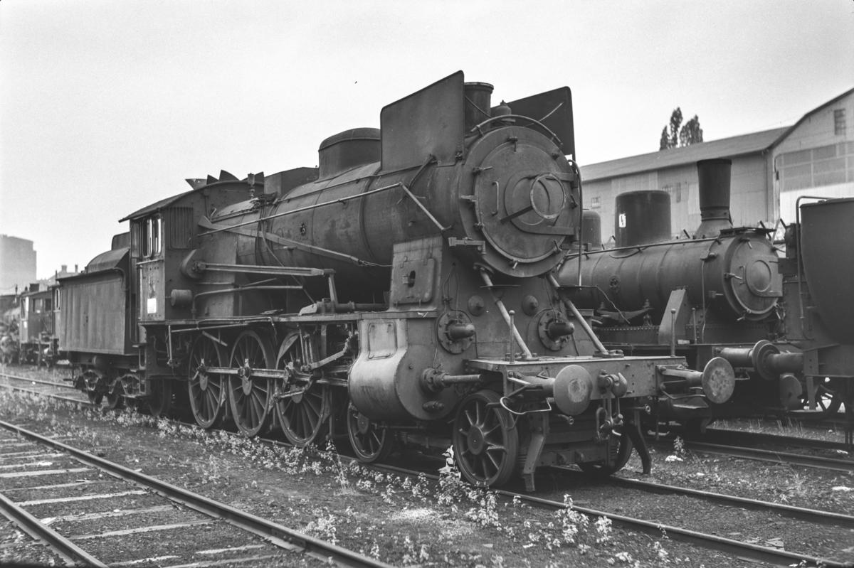 Utrangert damplokomotiv type 30b nr. 356 i Lodalen i Oslo.