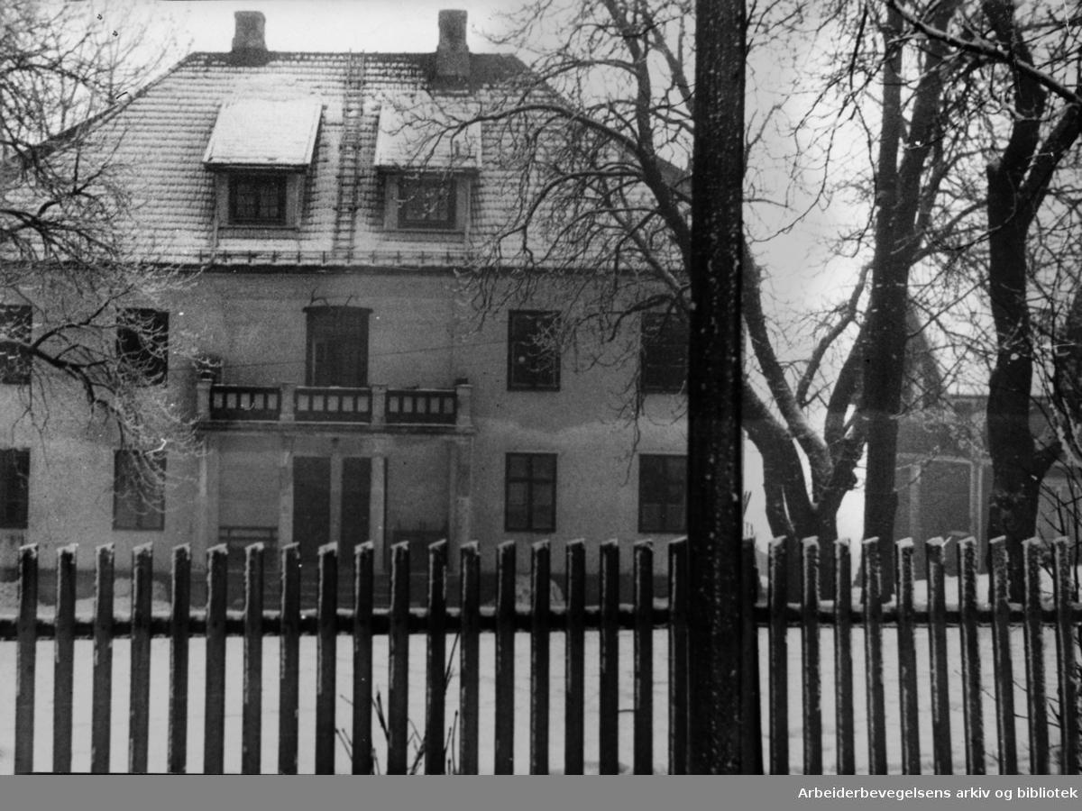 Brekke gård. 1947