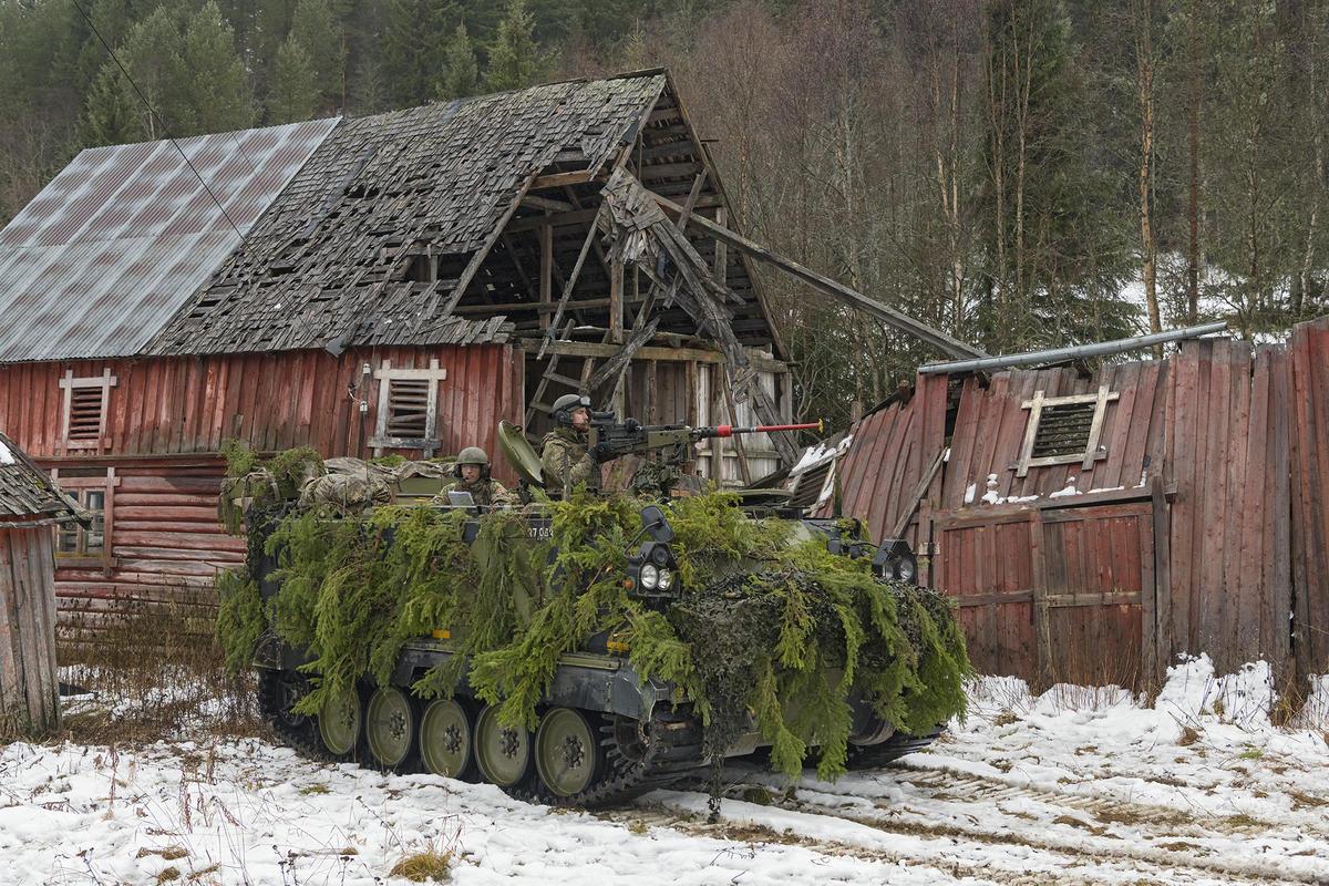 Nato-øvelse i Tylldalen, Hedmark.