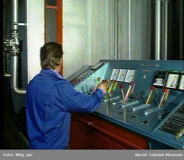 Dokumentasjon av driften ved Borg bryggeri i Sarpsborg.