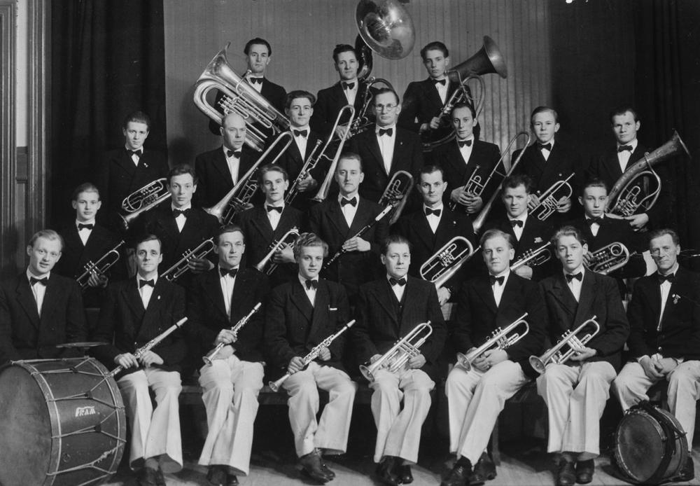 Hornmusikken Fram i 1949 (30-års jubileum).