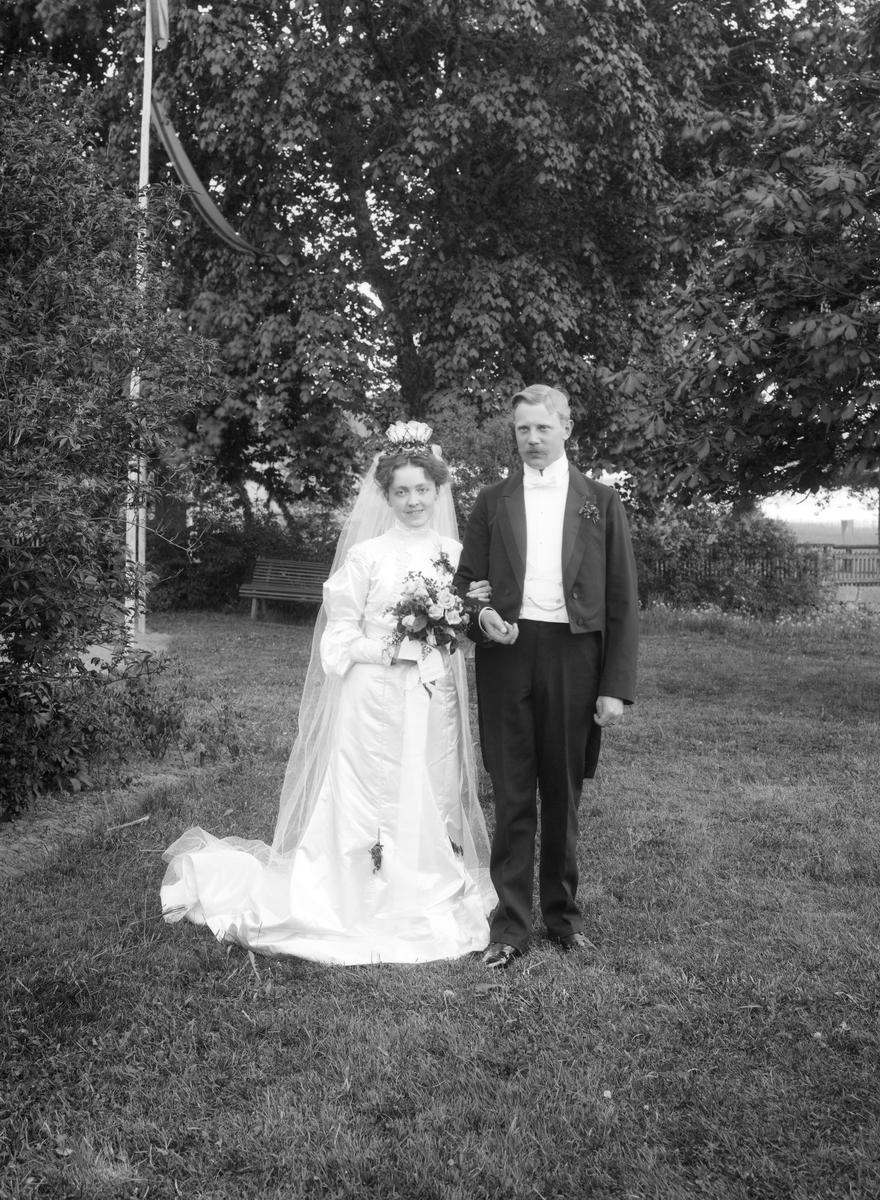 Torsdagen den 9 juni 1904 vigdes den holländske undersåten Frans Hendrik Heijbroek med Irma Salome, född Swenomi. Vigseln stod i bruden hemort Södra Vi och parets officiant var brudens far, kyrkoherde Carl Erik Swenomi. Paret flyttade till Amsterdam kort efter vigseln.
