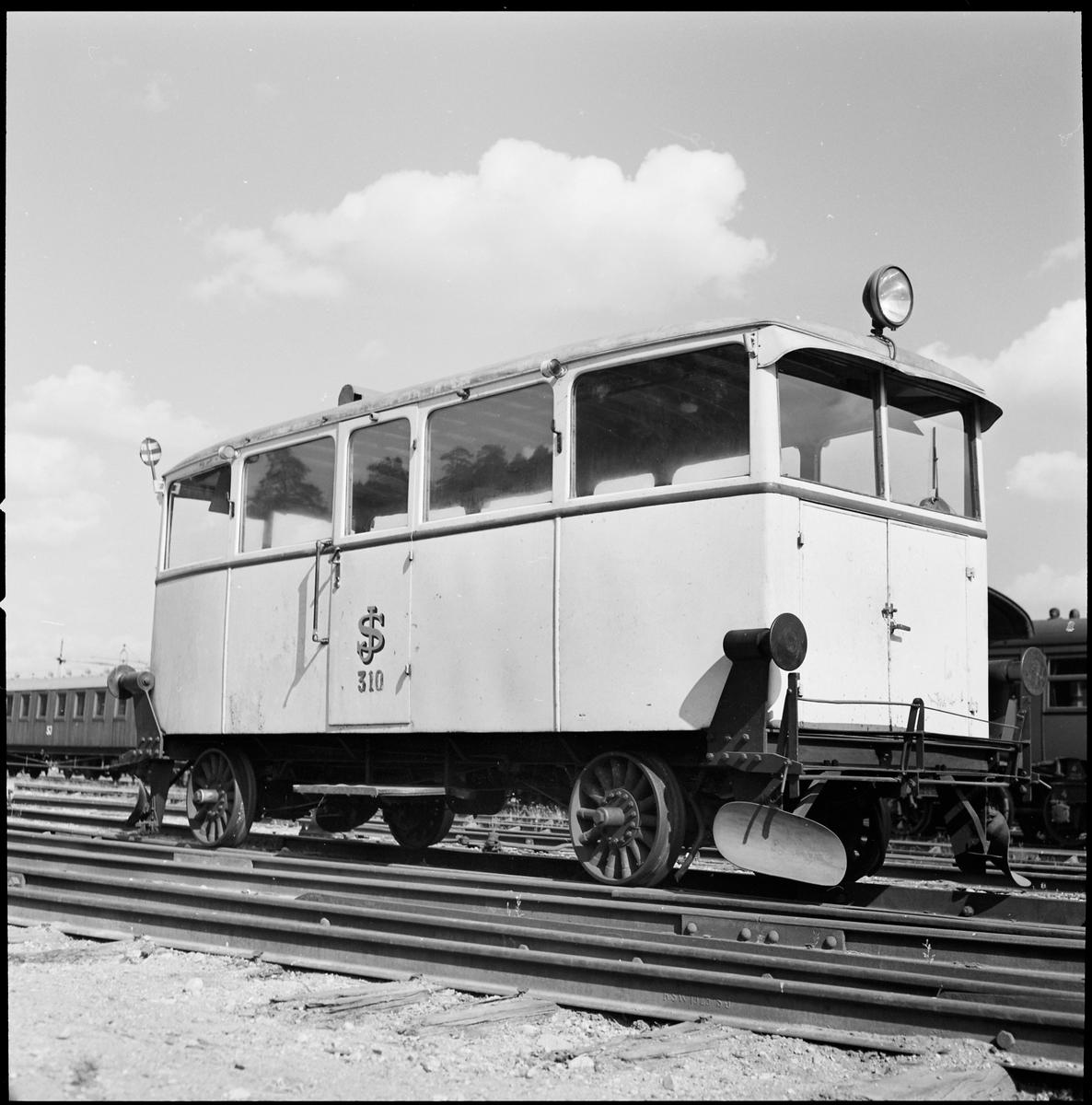 Statens Järnvägar, SJ rälsbuss 310.