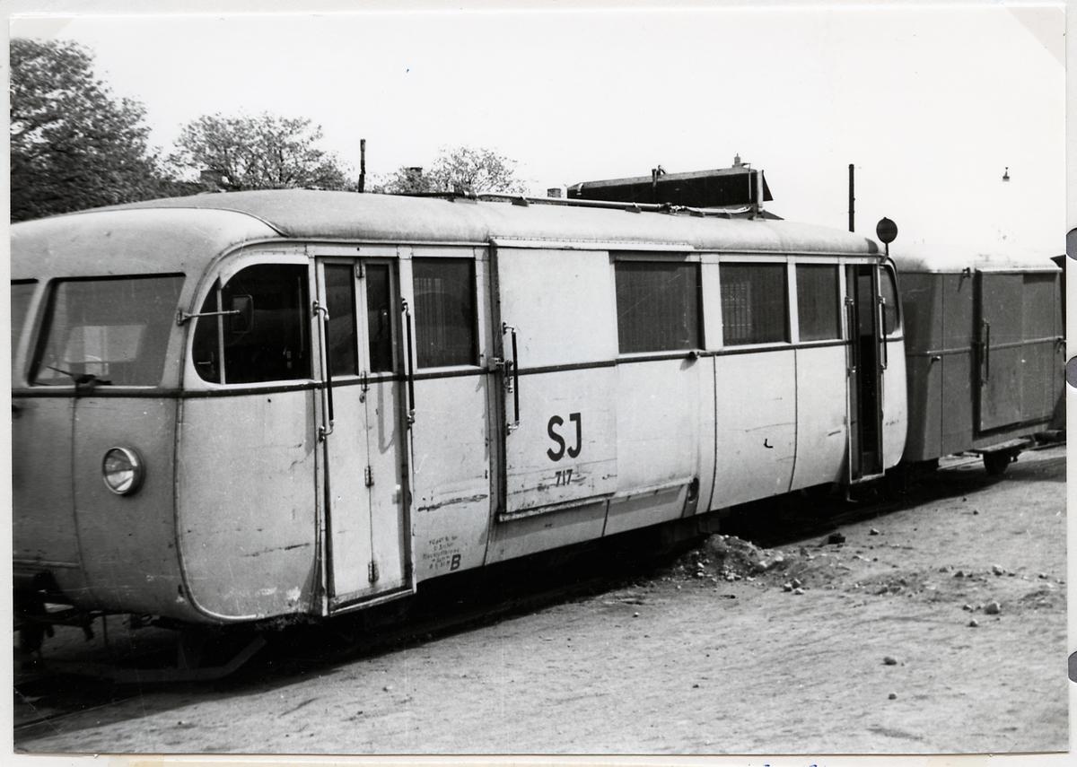 Rälsbuss, Statens Järnvägar, SJ YGp 717.