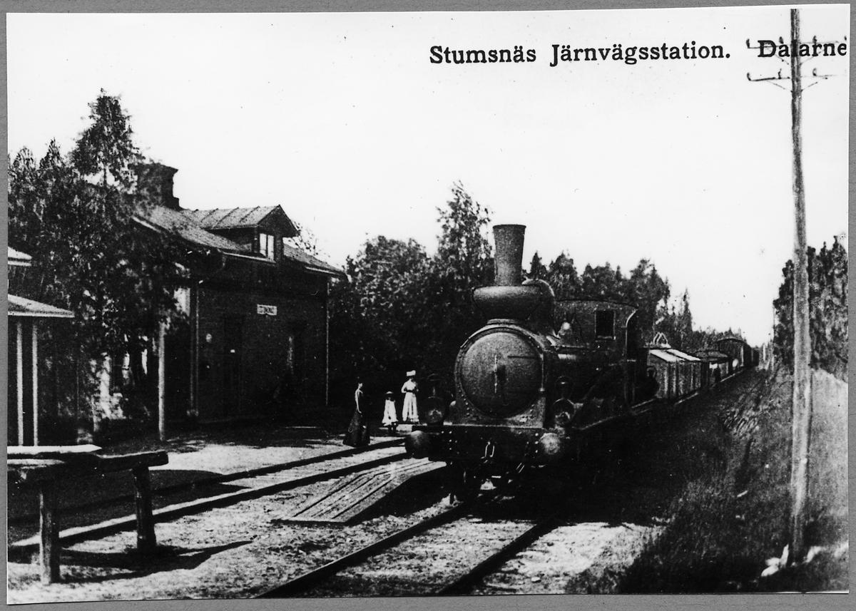 """Gävle - Dala Järnvägar, GDJ E 27 """"Rättvik""""."""