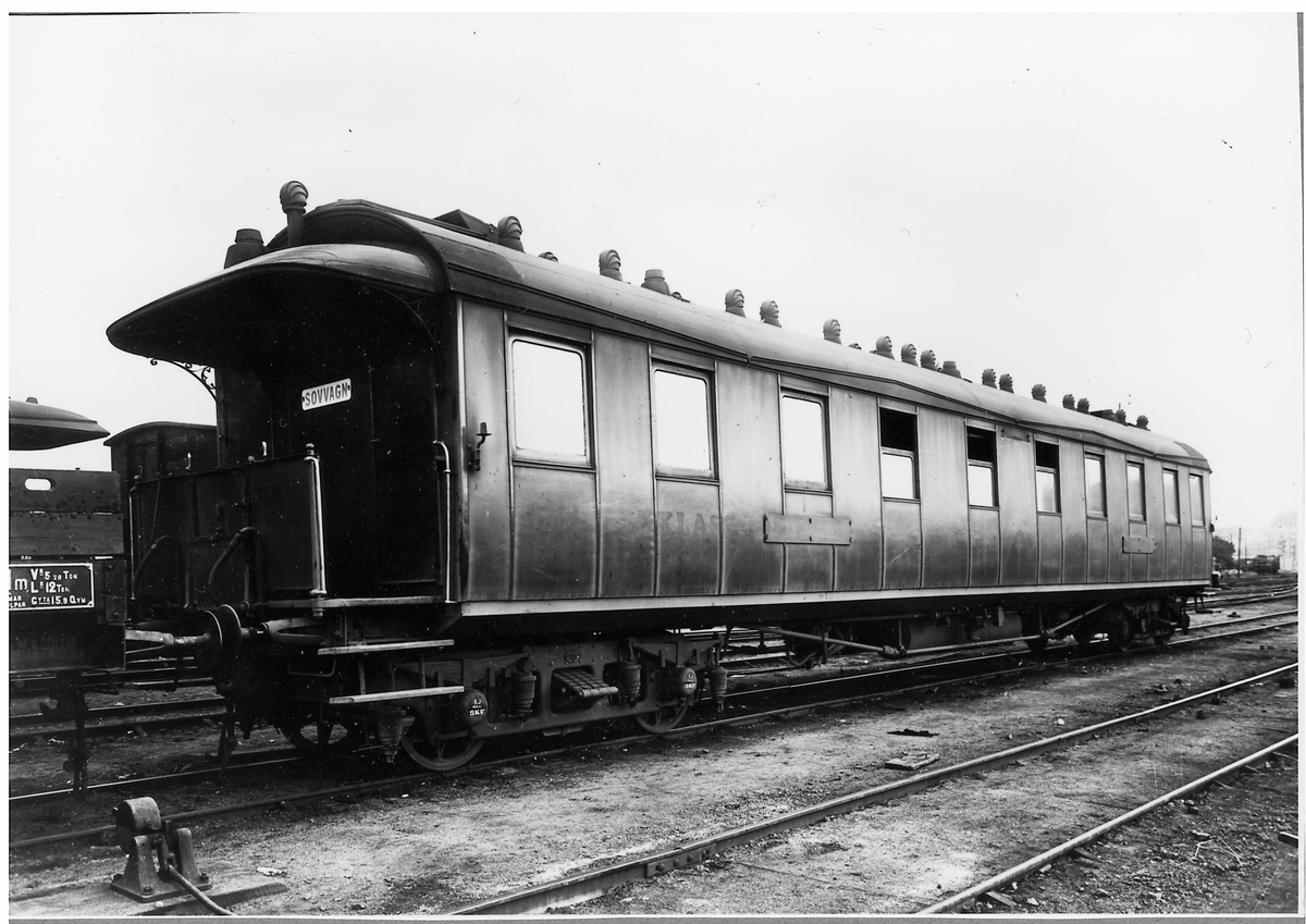 Sovvagn Statens Järnvägar, SJ C06 1901