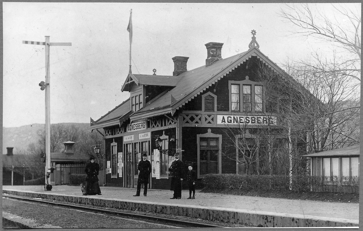 Stationen i Agnesberg.