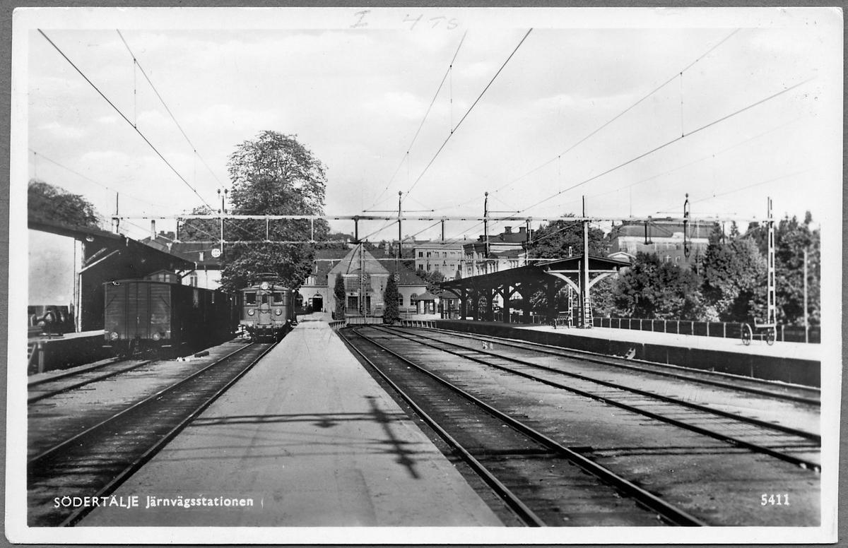 Södertälje järnvägsstation.