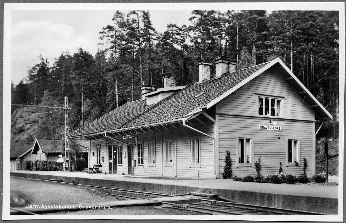 Graversfors station.