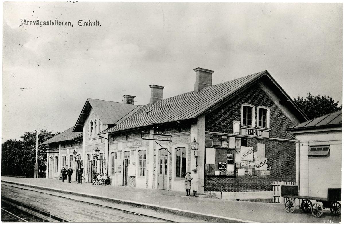 Älmhults station.