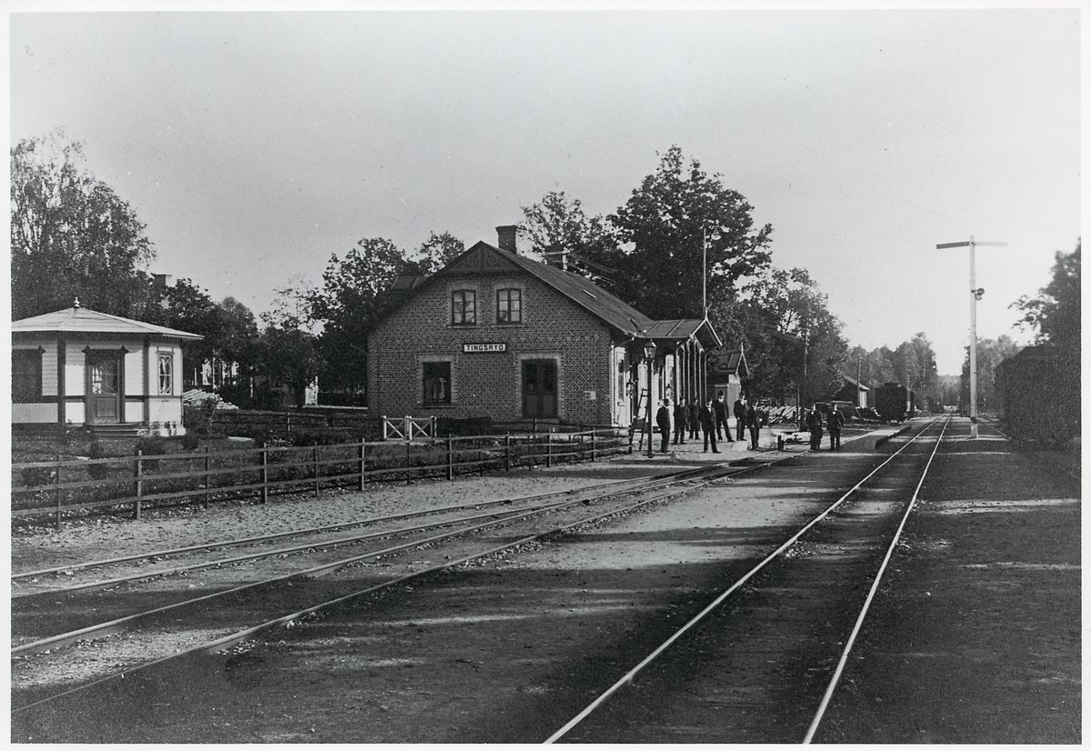 Tingsryd station.