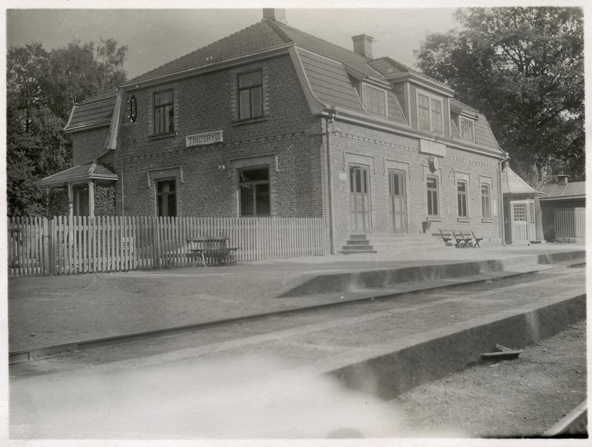 Tingsryds station.