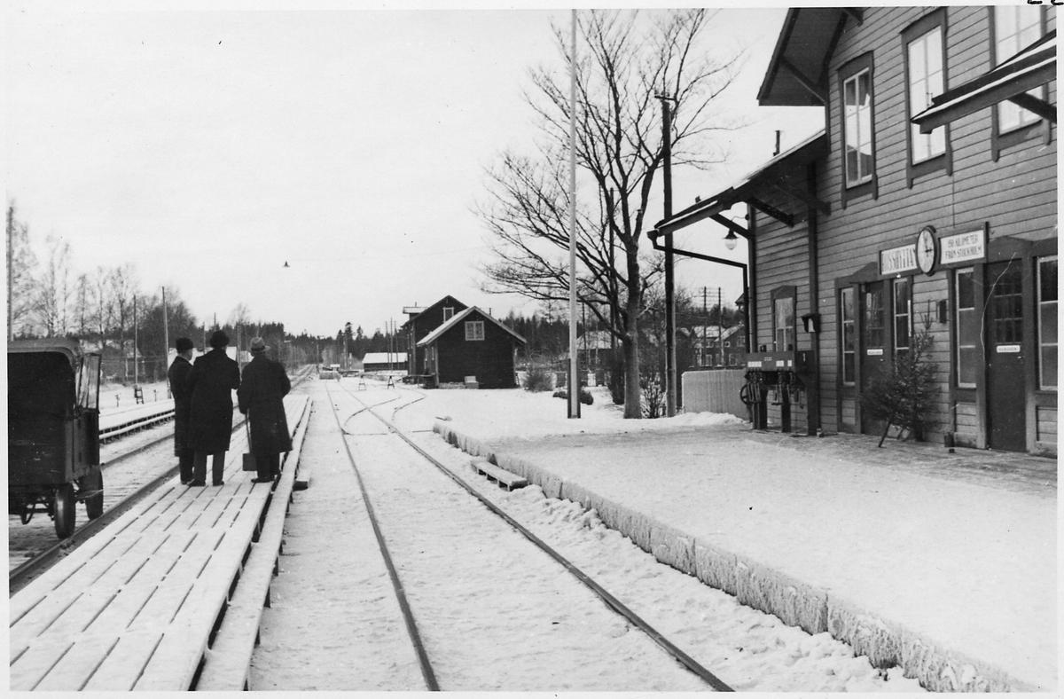 Rosshyttan station.