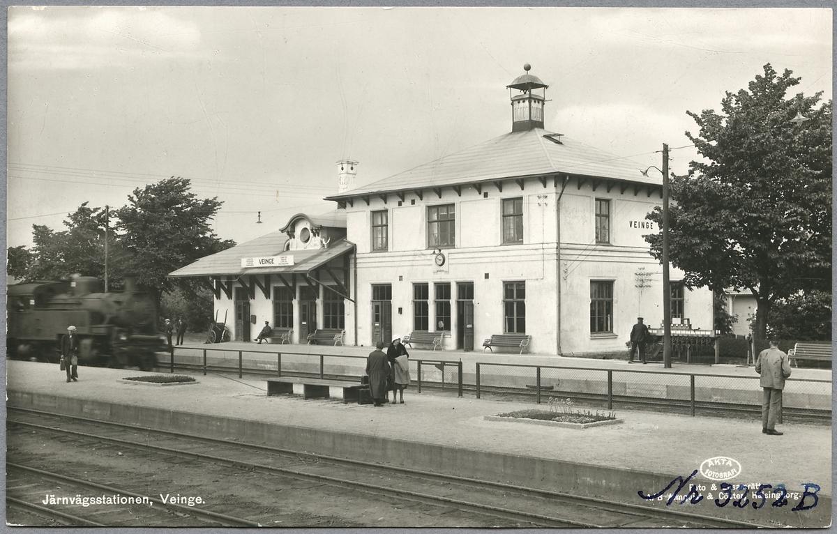 Veinge station.