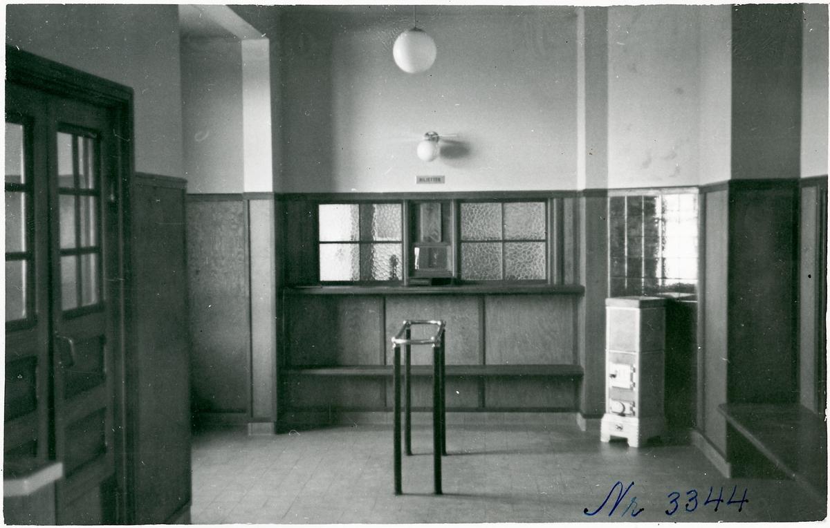 Vestibulen på Vimmerby stationshus.