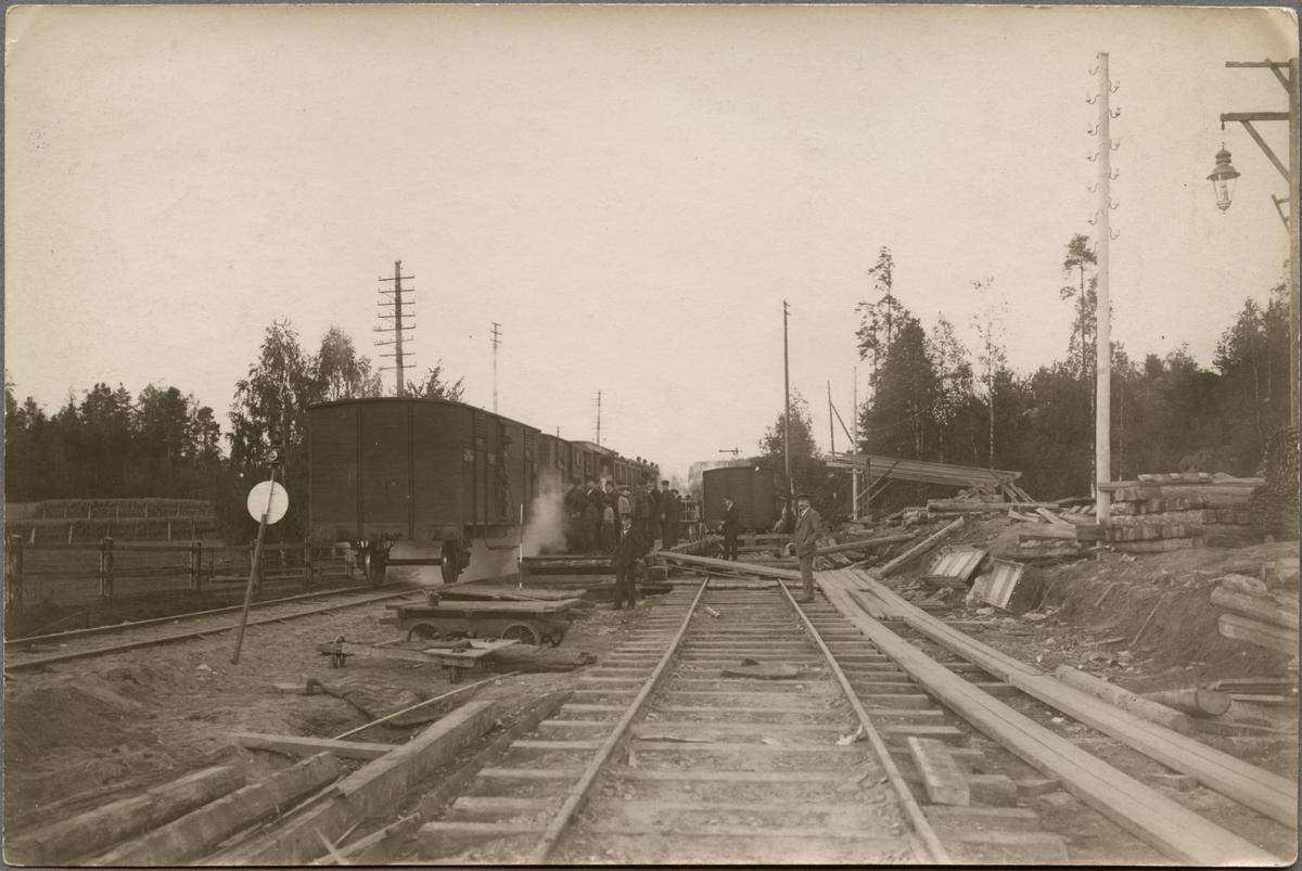 Olyckshändelse vid station.