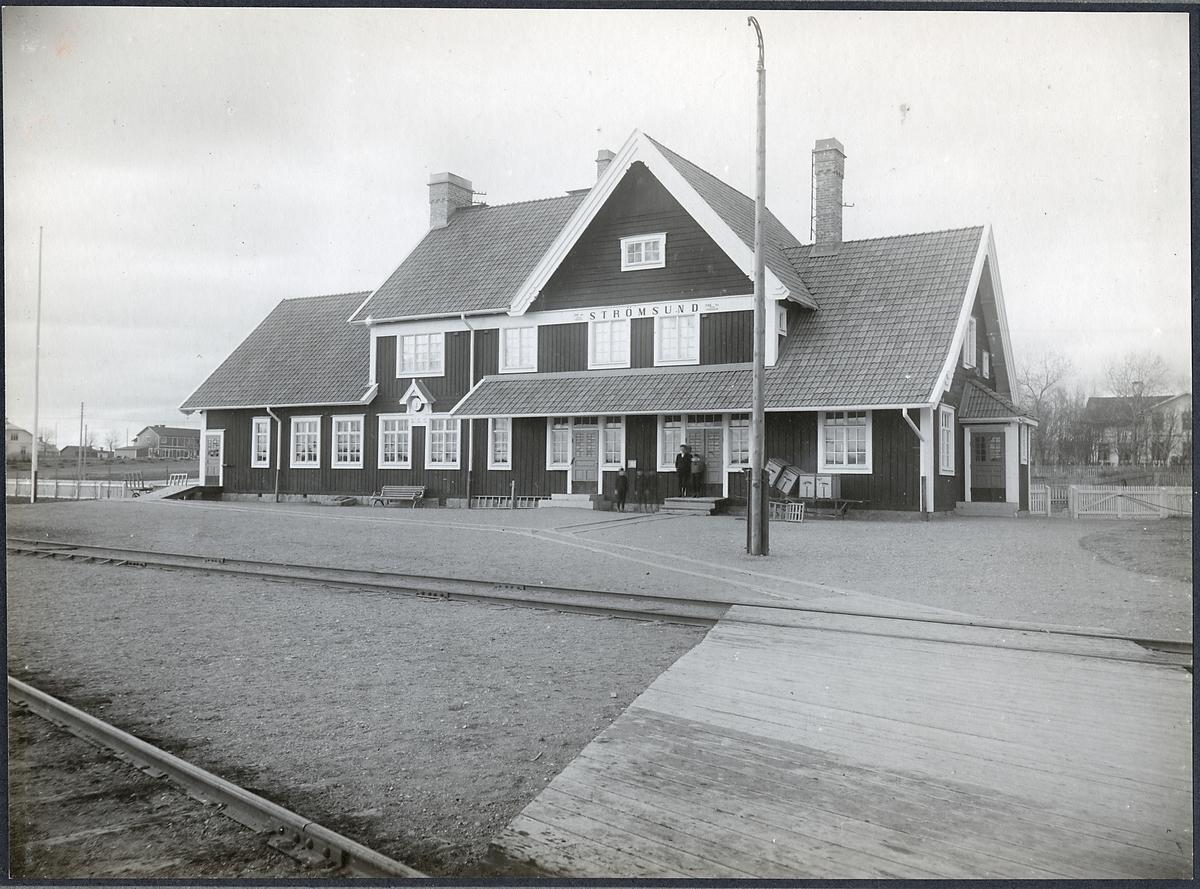 Strömsunds stationshus