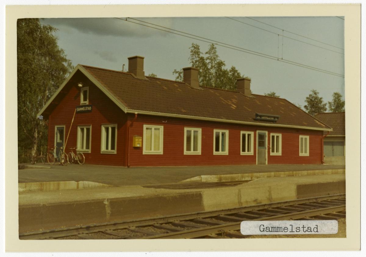 Gammelstad station.