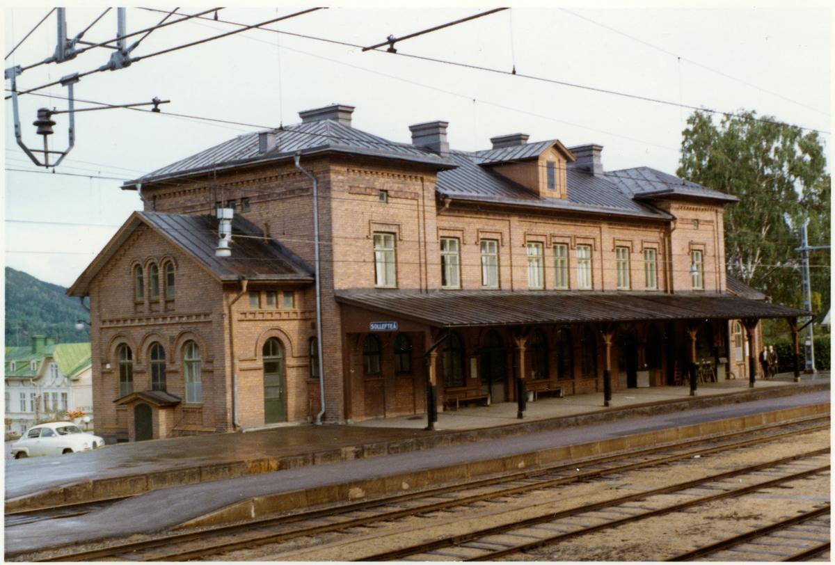 Sollefteå station.