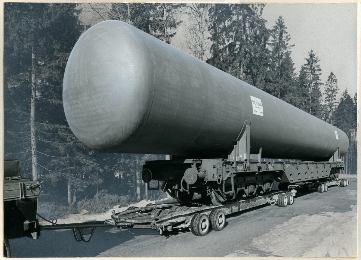 Chr. Olsson tillverkad tankvagn med littera Statens Järnvägar, SJ Q12 100403.