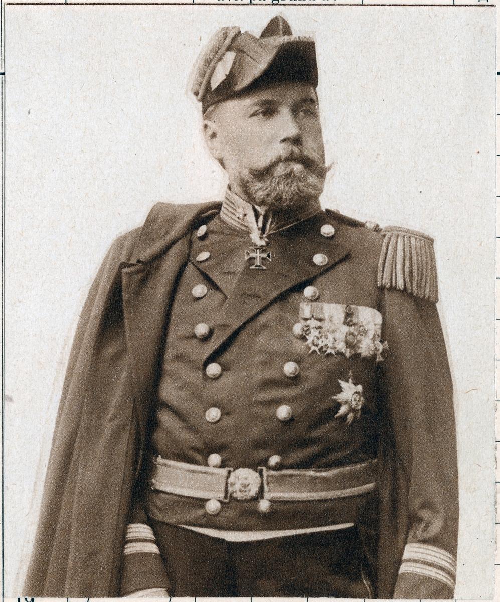 Robert Schumburg, konsul och biljettryckeriföreståndare vid Statens Järnvägar.
