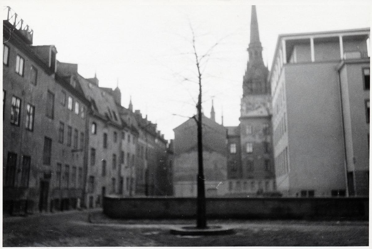 Gamla stan. Tyska Kyrkans torn.
