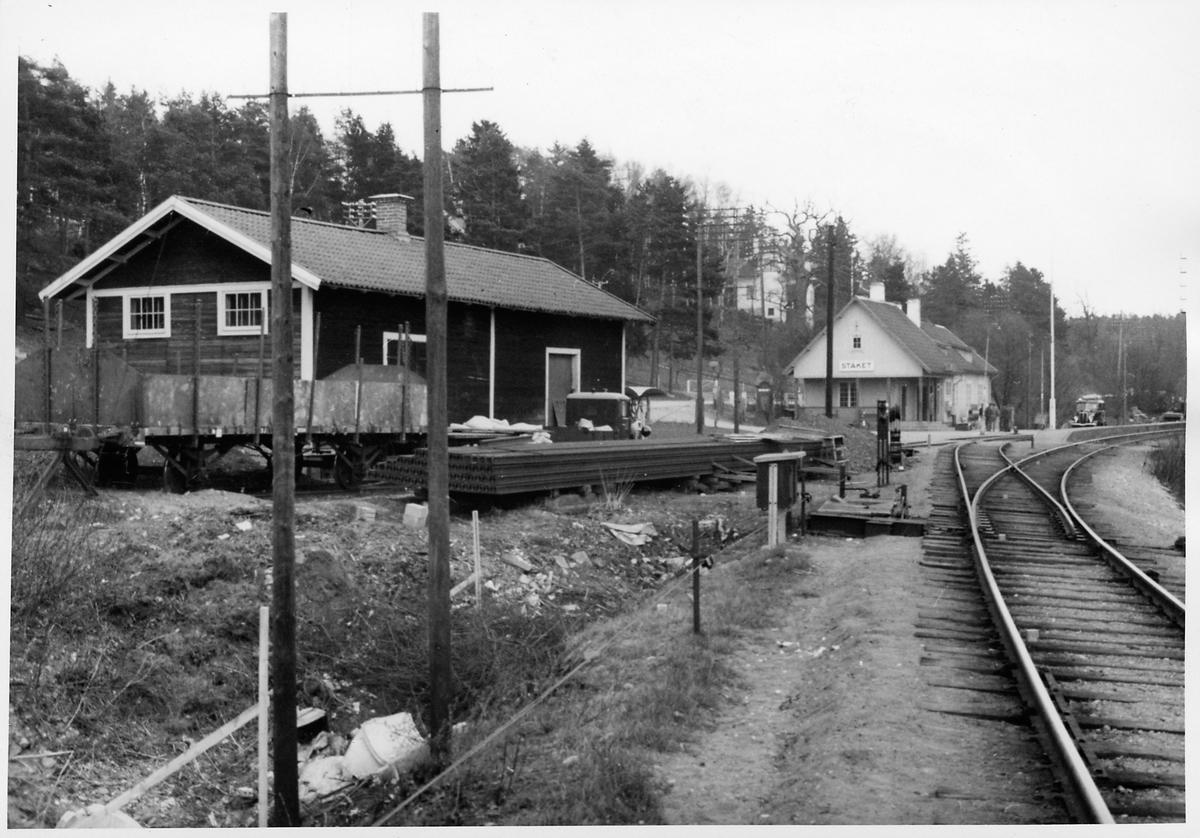 Stäket stationsmiljö.
